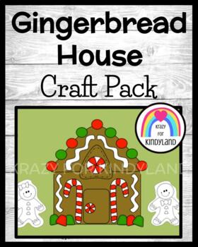 Christmas Craft: Gingerbread House and Gingerbread People