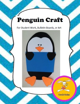 Christmas Craft - Penguin