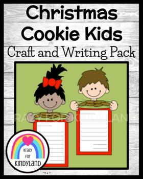 Christmas Craft and Writing: Cookie Kids and Thank You Let