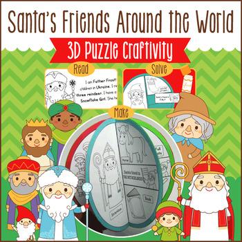 Christmas Around the World Puzzle Craft