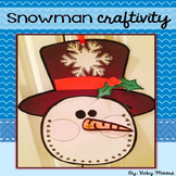 Christmas Craftivity - Snowman Countdown
