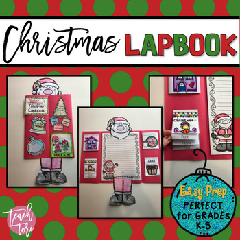 Christmas Craftivity and Lapbook