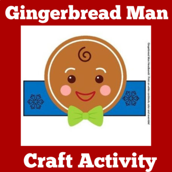 Gingerbread Man Activity | Gingerbread Man Craft | Gingerb