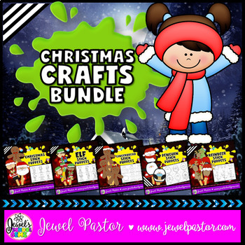 December Activities (Christmas Craftivities BUNDLE)