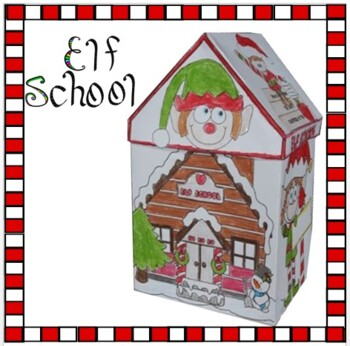 Christmas Crafts - ELF SCHOOL
