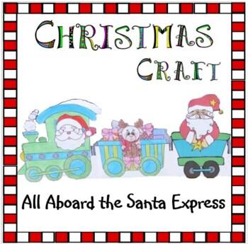 Christmas Crafts - The Santa Express