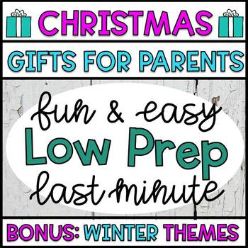Christmas Crafts and Gifts: Keepsake Presents for Parents