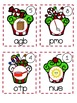 Christmas Cupcakes CVC Unscramble - FREEBIE
