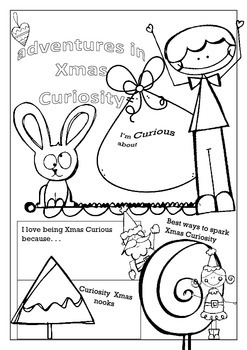 Christmas Curiosity Poster - A Great Theme Starter