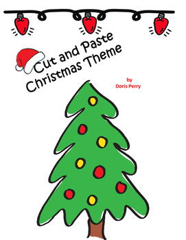 Christmas Cut and Paste Theme