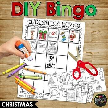 Christmas DIY Bingo {DO IT YOURSELF}