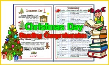 Christmas Day  Reading Comprehension
