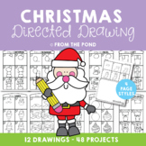 Christmas Directed Drawing - Christmas Activities