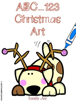 Christmas Do a Dot Art
