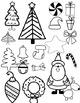 Christmas Doodles Clip Art