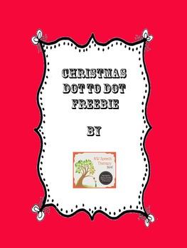Christmas Dot to Dot Freebie