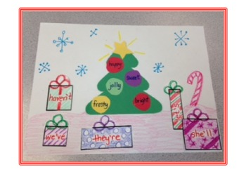 Christmas ELA Picture Craft