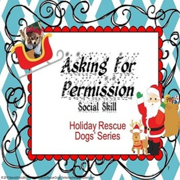 Christmas Edition Asking For Permission Rescue Dogs' Socia
