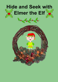 Christmas Elf Color Word Book