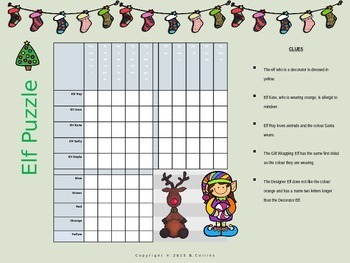 Christmas Elf Logic Puzzle