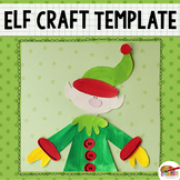 Christmas Elf Printable Craftivity Template