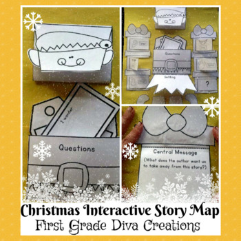 Polar Express~Printable Interactive Elf Themed Story Map
