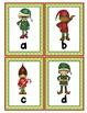 Christmas Elves Alphabet Scavenger Hunt: Upper and Lowerca