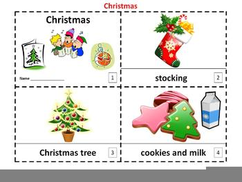 Christmas Emergent Reader 2 Booklets