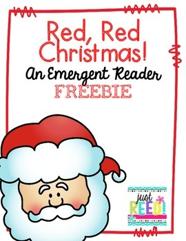 Christmas Emergent Reader FREEBIE