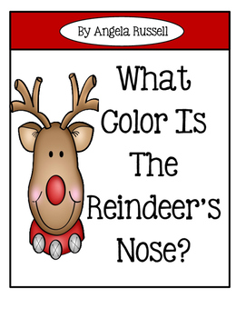 Christmas Emergent Reader / Flash Cards ~ What Color Is Th