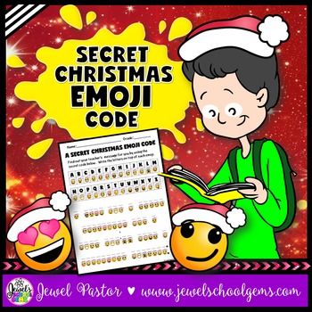 December Activities (Christmas Emoji Activities)
