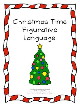 Christmas Figurative Language