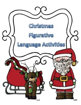 Christmas Activities for Figurative Language