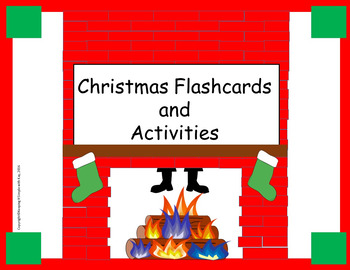 Christmas Flashcards and Activities