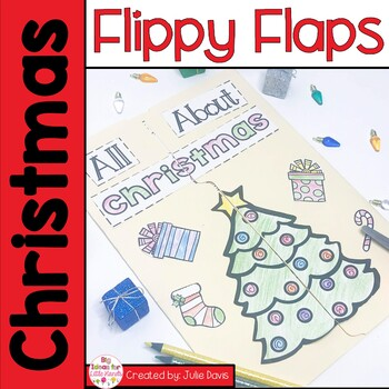 Christmas Flippy Flaps Interactive Notebook Lapbook