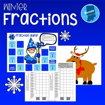 Christmas Fraction Activity Pack