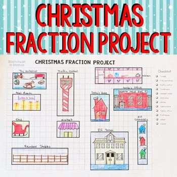 Christmas Fraction Project