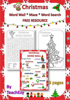 Christmas Free Resource