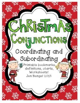 Christmas Freebie! Coordinating & Subordinating Conjunctio