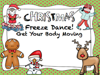 Christmas Freeze Dance