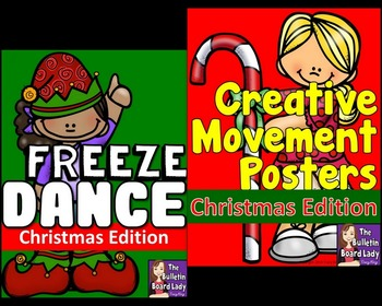Christmas Freeze Dance and Creative Movement