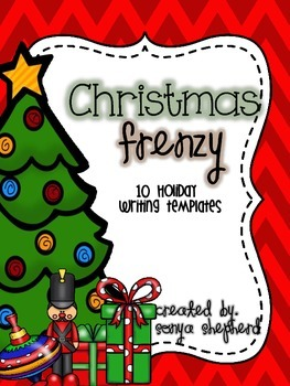Christmas Frenzy!  Holiday Writing Prompts