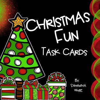 Christmas Fun Task Cards