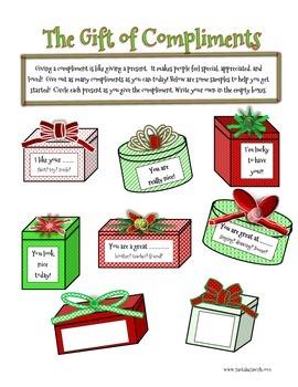 Christmas Fun - Gift of Compliments