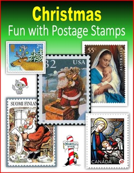 Christmas:  Fun with Postage Stamps