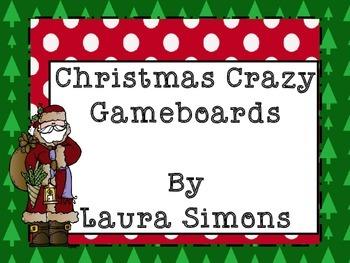 Christmas Gameboard Sample Freebie