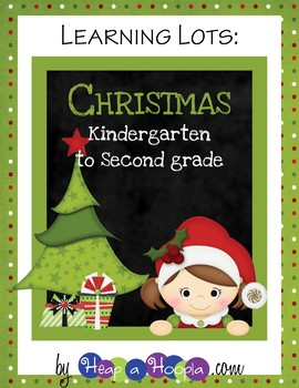 Christmas Games and Activities for First, Second and Third grades