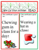 FREE Christmas Bookmarks and Gift Coupons