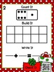 Christmas Gift Domino Addition Ten Frame (A QR Code Self C