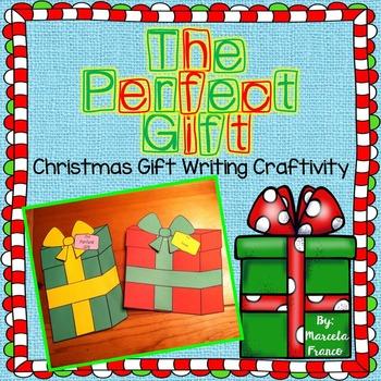 Christmas Gift Writing Craftivity- The Perfect Gift